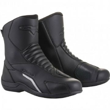 Alpinestars Ridge V2 Drystar Waterproof Motorcycle Motorbike Touring Boots Black